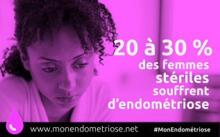 MonEndometriose 30% femmes stériles
